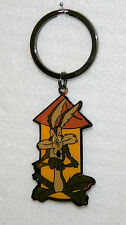Warner Brothers Wb Wile E Coyote Pinnacle Designs Metal Key Chain New Nos 1998