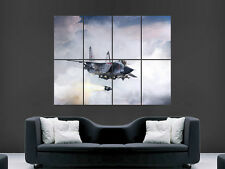 MIG 31  FIGHTER JET MISSILE MILITARY  ART WALL PICTURE POSTER  GIANT HUGE !!!