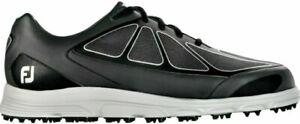 Men's Footjoy Superlites CT 58003 Spikeless Golf Shoes~Size 10XW~NIB~Black/Gray