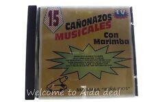 Con Marimba by 15 Canonazos Musicales (1993) CD