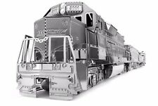 Fascinations Metal Earth Freight Train 3D Metal Model Kits Incl Engine + 4 Cars