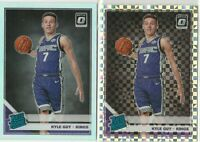 2019-20  Donruss Optic Kyle Guy Checkerboard Prizm Rated Rookie & Base Prizm