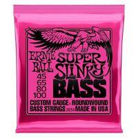 Ernie Ball 2834 Super Slinky Electric Bass 4 String Set (45-100)