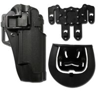KIT FONDINA SOFTAIR RIGIDA SERPA CQC MOLLE PLUS 1911 NERA -AIRSOFT HOLSTER