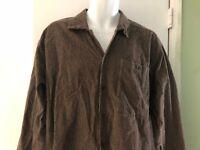 Men's FLAX by Jeanne Engelhart cotton Long Sleeve Shirt Small