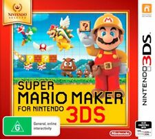 Super Mario Maker for 3ds Nintendo Selects Game Australian Version in Stock