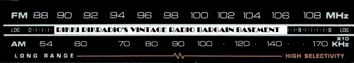 Vintage Radio Bargain Basement