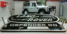 LAND ROVER DEFENDER 90 patrimonio LTD EDITION CAST Aluminium Grill OEM VASCA BADGE