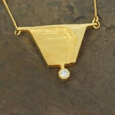 Wert 2590 € Lapponia Brillant Collier (0,10 carat) in 585er 14 K Gelbgold