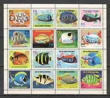 E0372 GUINEA ECUATORIAL FAUNA FISH & MARINE LIFE 1SH MNH