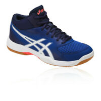 Asics Mens Gel-Task 2 MT Court Shoes Blue Sports Squash Badminton Handball