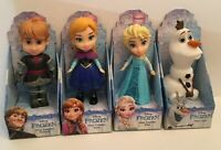 Disney Frozen Princess Toddler Doll Anna, Glitter Elsa, Posable Kristoff & Olaf