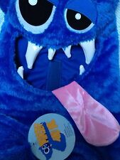 NEW Manhattan Toy Blue MONSTER AND ME COSTUME 3 4 5 NWT 3-5 Dress-Up Halloween