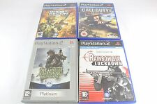 Sony PS2 Playstation 2 Rainbow Six Medal of Honor Ghost Recon Cal of duty