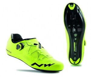 Northwave Extreme RR Yellow Fluo Size 45 US 12