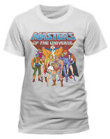 Masters of the Universe T Shirt OFFICIAL Group He-Man Skeletor Grayskull SMLXLXX