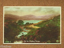 R&L Postcard: By the Winding Stream, Colour Tinted Mountain Landscape Scotland?