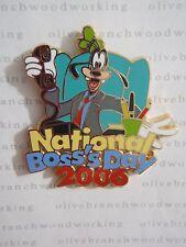WDW Disney NATIONAL BOSS DAY 2006 Businessman Goofy Cast Member Pin LE 750