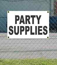 2x3 PARTY SUPPLIES Black & White Banner Sign NEW Discount Size & Price FREE SHIP