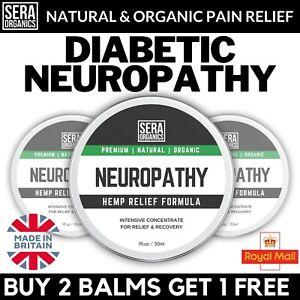 Diabetic Neuropathy Cream Balm Hemp Burning Nerve Neuropathic Max Pain Relief