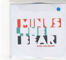 (FB934) Minus The Bear, Steel And Blood - DJ CD