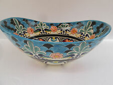 "18"" TALAVERA SINK vessel mexican bathroom handmade ceramic folk art"