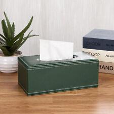 Leather Tissue Box Cover Holder -Vintage Napkin Paper Holder for Car Home,Office