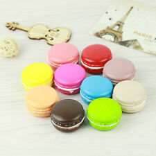 Jumbo Dessert Macaron Squishy Charms Soft Buns Cell Phone Key Chain Bread Straps