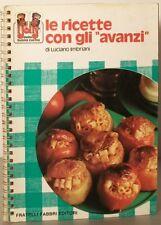 Le ricette con gli avanzi Luciano Imbriani Fabbri 1976