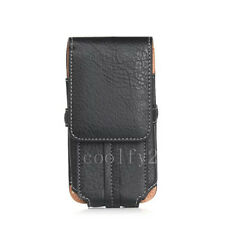 Retro Flip Leather Card Holder Wallet Belt Clip Pouch Case Cover For Cell Phones