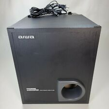 Aiwa TS-W35U Powered Subwoofer Active Speaker System Tested w/ 10' Audio Cable