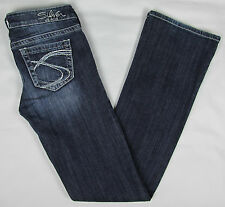 Womens Silver jeans Tuesday Boot cut jeans - Blue – Size W 26 / L 35