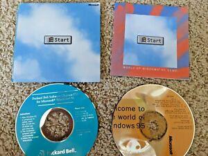 "ULTRA RARE Microsoft ""World of Windows 95 Demo"" (Codename ""Chicago"") CD Booklet"