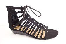 Report Colt Black Gladiator Sandal Shoes Women US 8.5