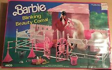 Barbie Pferde Stall Blinking Beauty Corral   aus USA RARITÄT Sammler Neu OVP