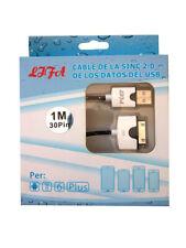 CABLE USB de DATOS y CARGA PARA IPAD 2 3 IPHONE 3G 4 4S USB LAGO 1 METRO