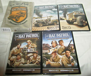 Rat Patrol The Complete Series DVD 2008 7-Disc Set FREE SHIPPING Gem Mint Discs