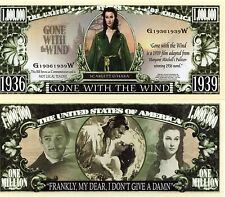 Gone with the Wind Movie Million Dollar Novelty Money
