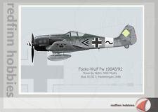 Warhead Illustrated Focke Wulf Fw 190A8/R2 Moritz Aircraft Print
