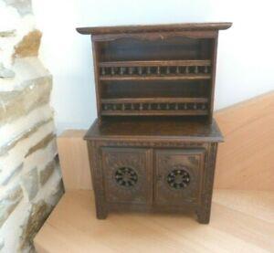 ancien meuble breton Buffet Vaisselier Miniature
