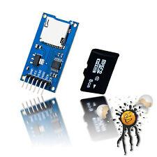 ESP8266 ESP32 ESP8285 Arduino SPI memory expansion kit Card Reader + 8GB SD  Card
