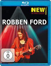ROBBEN FORD - New Morning: The Paris Concert - Blu-ray ! - NEU/OVP!