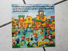 Fabuland  - Hörspiel Single (Werbehörspiel Lego ,Flexi Single)mit Begleitheft -X