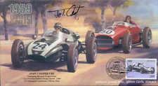 1959c COOPER-CLIMAX T-51 & FERRARI D246, MONTE CARLO, MONACO signed JOHN COOPER