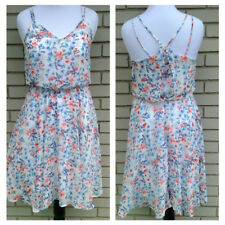 My Story Womens Dress Prairie Boho Country Shabby Chic Floral Sun Size Large New