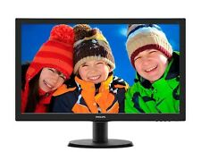 Philips 243V5LHAB 24 inch LED Monitor - Full HD 1080p, 5ms, Speakers, HDMI, DVI
