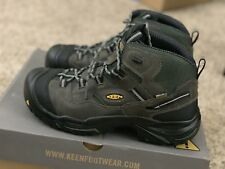 Keen Men's 12D Braddock Mid WP Boot Cargoyle/Forest Night 1011243D