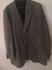 Vtg Kupp Harris Tweed Handwoven Mens Blazer 100% Pure Scottish Wool (Measurement