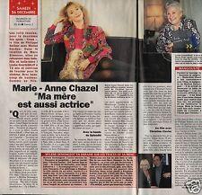 Coupure de presse Clipping 1993 Marie Anne Chazel (1 page 1/2)