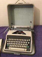Vintage Olympia SM7 Deluxe Portable Manual Typewriter With Case Owners Manual